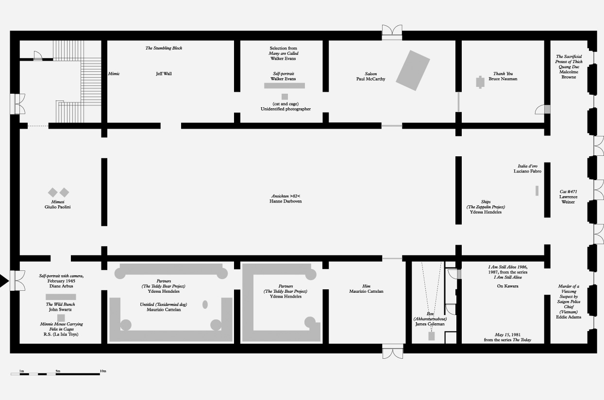 Floor Plan Of The Exhibition Partners At The Haus Der Kunst In Munich